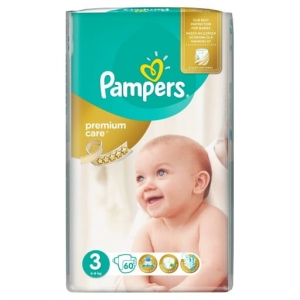 Pampers premium care 3  2018